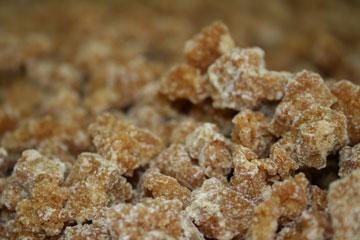 こつぶ黒糖の製造工程